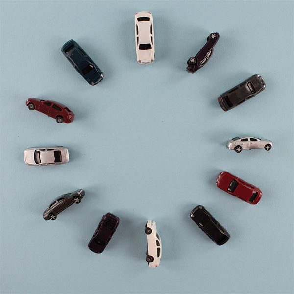 1:100  Size Scale Car Pack of 100