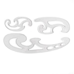 Set of 3 French Curves DARFCS3