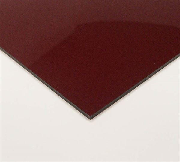 Red Transparent Acrylic Sheet A3 ACR3ITRA4