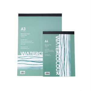 Glued Watercolour Pads Category Pic