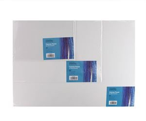 CANPAN4 A4 Primed Canvas Board - 10 Pack