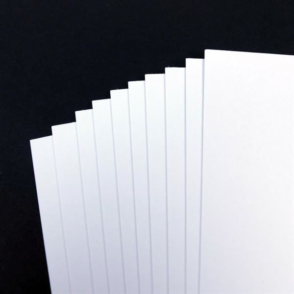 A1 200gsm White Card, 50 Sheet Pack CDW4SA1