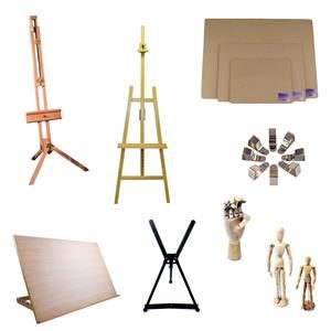 Drawing Boards, Easels & Mannequins cat pic