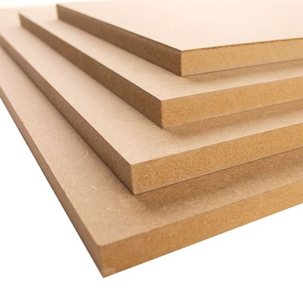 12mm MDF Boards - A2, pack of 4 MDFA2