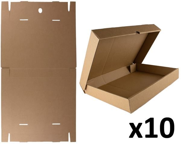 Flat-pack A3 storage box x10pk