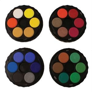 Kohi-Noor Watercolour Disk Compact Set PTW24