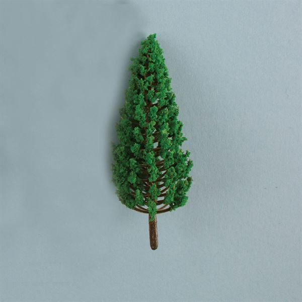 1:100 Scale Model Conifer Trees Pack of 10