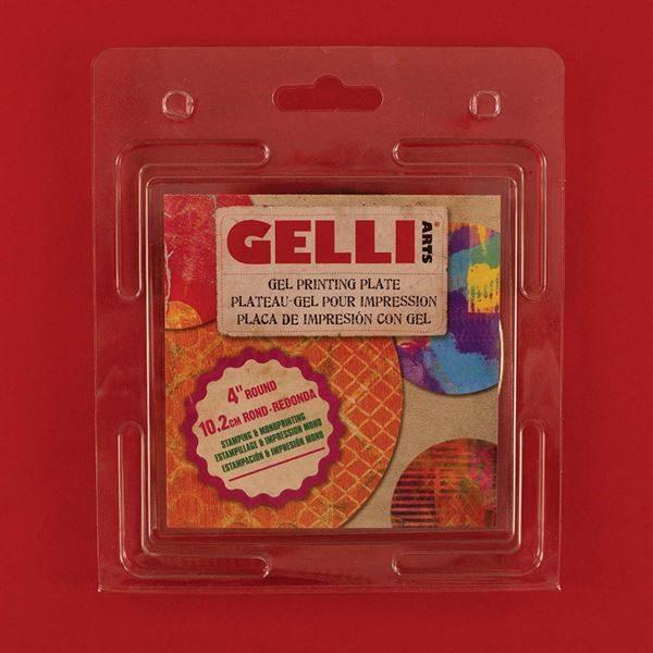 Gelli Plate 4 Inch Round GP4R